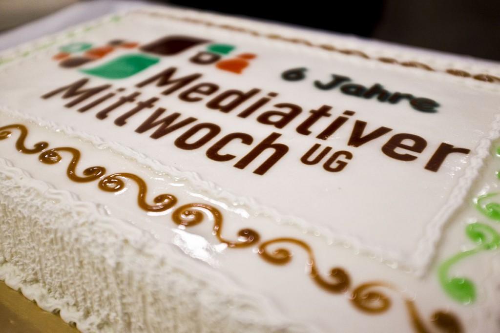 mediativer_mittwoch_torte 6. Geburstag